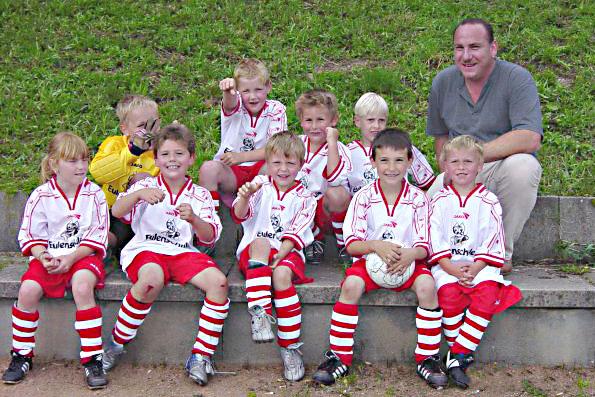 Klasse Fussballteam