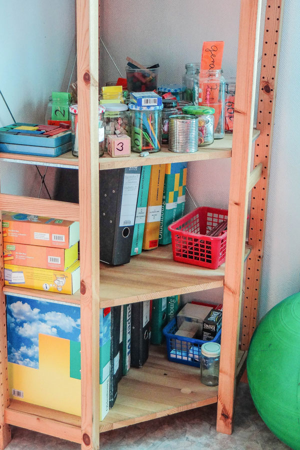 In der Eulenschule® gibt es an jeden Schüler angepasste Unterrichtsmaterialen