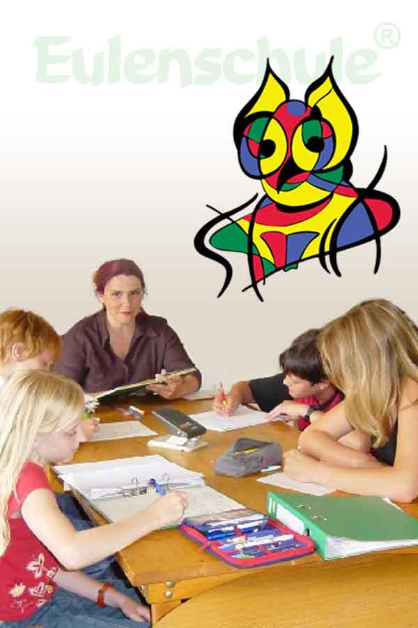 Unterricht mit Isabelle Borja-Welschinger in der Eulenschule®